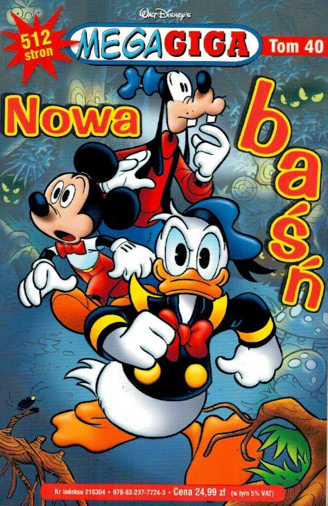 f85ae6f28e3071 Nowa baśń Tom 40 MegaGiga Walt Disney :: Winyl-Books Księgarnia ...