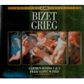 Bizet Grieg - Carmen suites 1&2, Peer Guint Suites [2 CD]