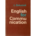 English for communication L.Szkutnik